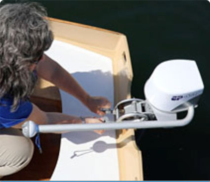 The lightest outboard for dinghies