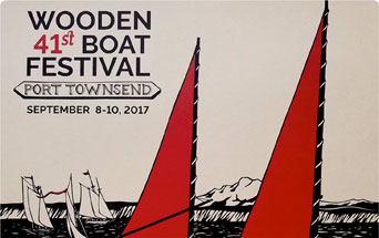 Joe Grez, guest faculty at Port Townsend Wooden Boat Festival Sept. 10, 2017