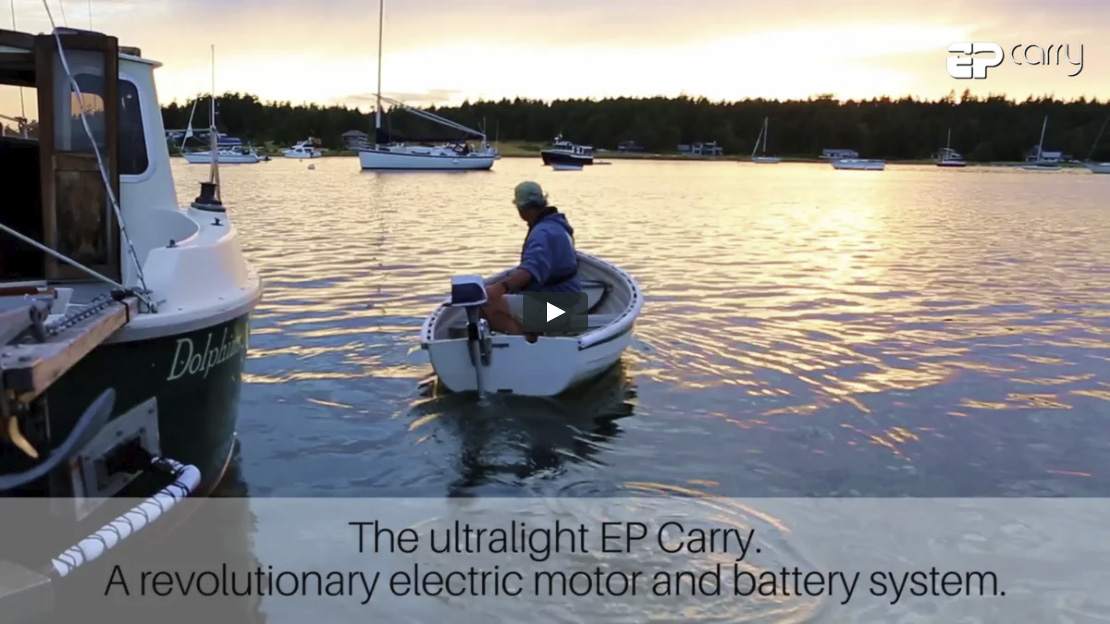 EP Carry - Powerful and light electric outboard motor